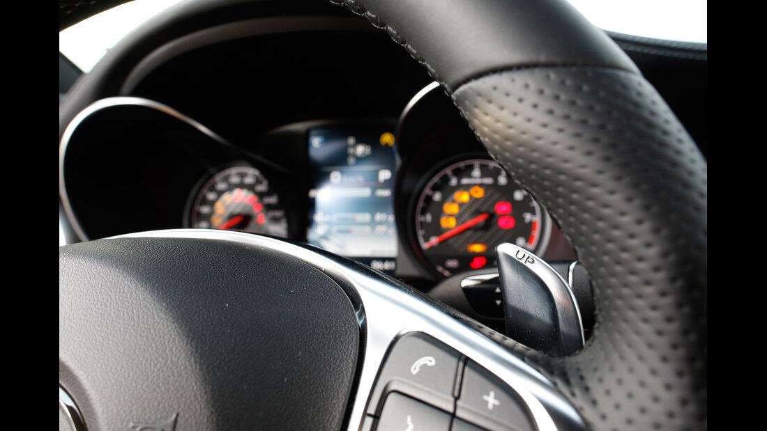 Mercedes-AMG C 63, Rundinstrumente