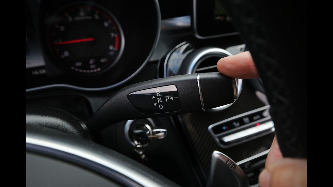 Mercedes-AMG C 63 S, Bedienelemente