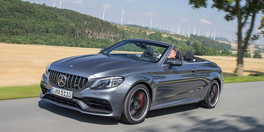 Mercedes-AMG C 63 S Cabrio - Serie - Cabrios bis 100000 Euro - sport auto Award 2019