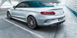 Mercedes-AMG C 63 S Cabriolet Ocean Blue Edition