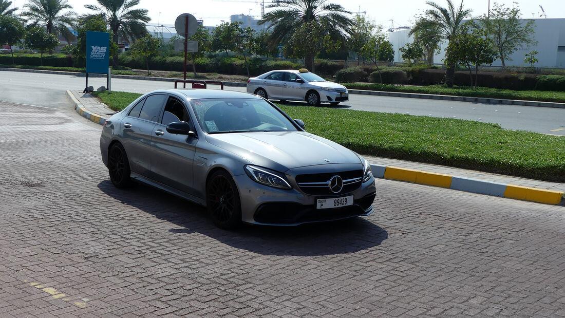 Mercedes-AMG C 63 S - Carspotting - GP Abu Dhabi 2019