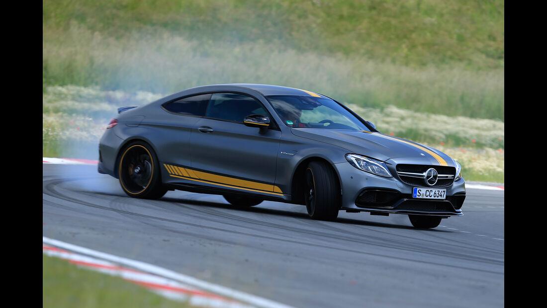 Mercedes-AMG C 63 S Coupé, Driften
