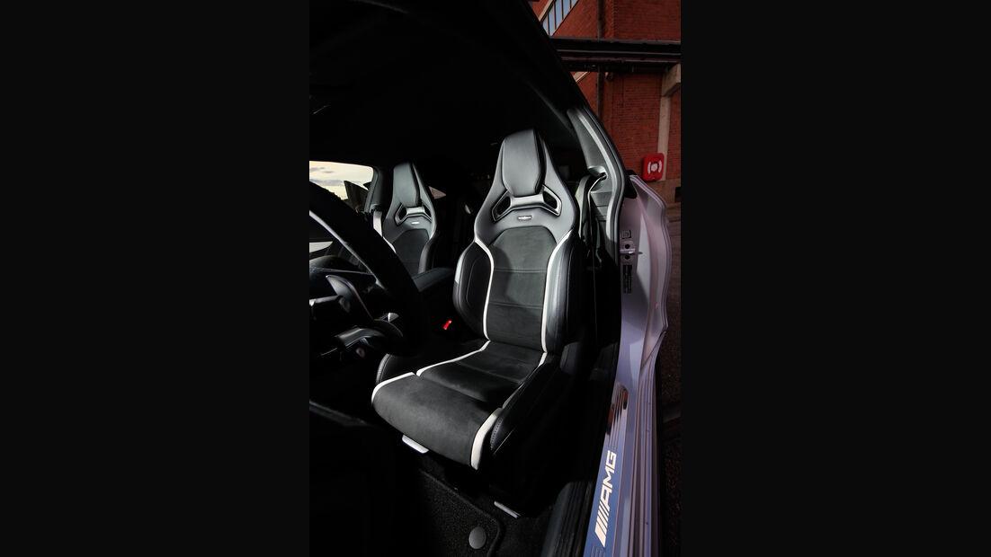 Mercedes-AMG C 63 S Coupé, Fahrersitz