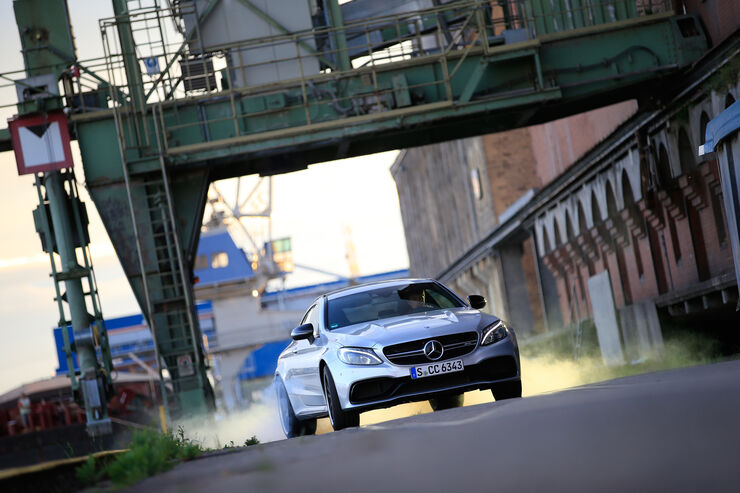 Mercedes-AMG C 63 S Coupé, Frontansicht