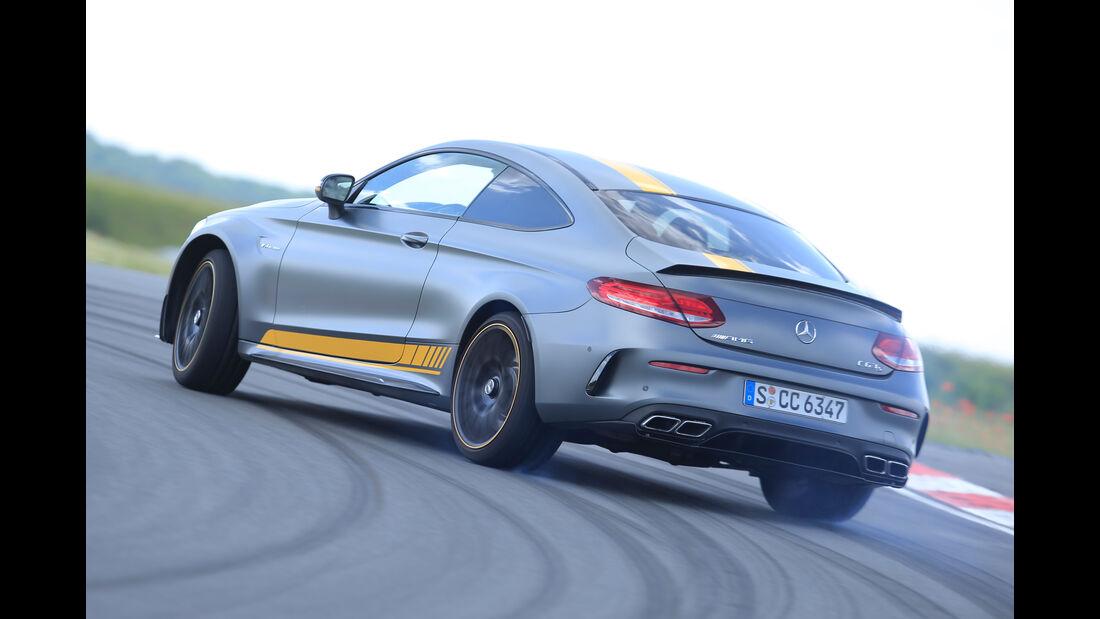 Mercedes-AMG C 63 S Coupé, Heckansicht