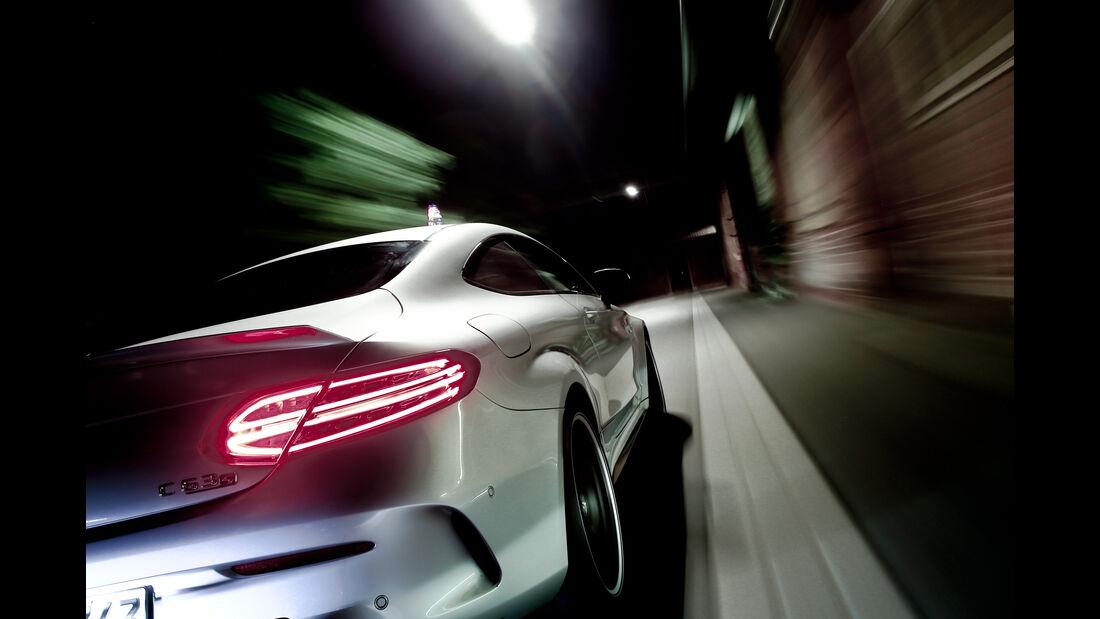 Mercedes-AMG C 63 S Coupé, Heckleuchte