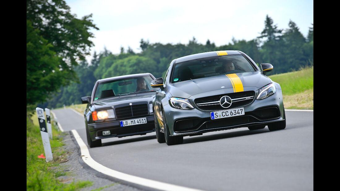 Mercedes-AMG C 63 S Coupé, Mercedes 300 CE