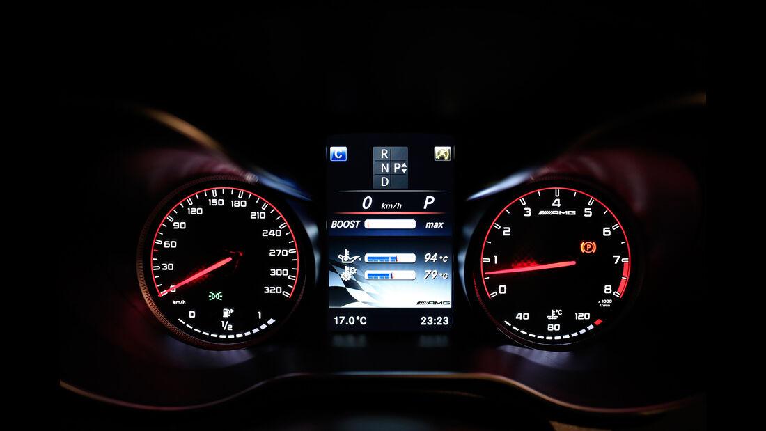 Mercedes-AMG C 63 S Coupé, Rundinstrumente