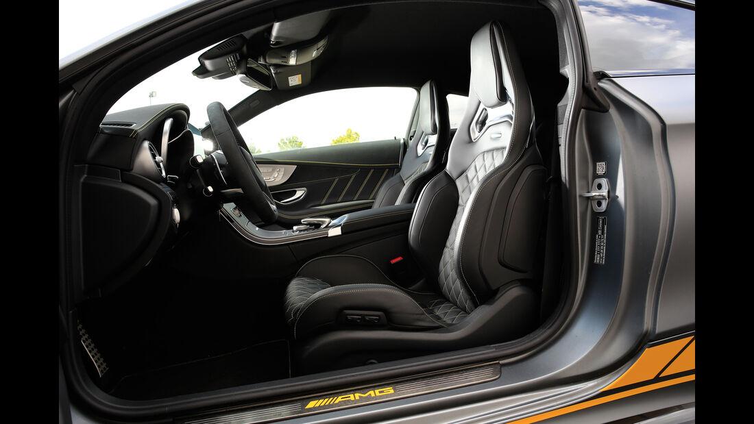 Mercedes-AMG C 63 S Coupé, Sitze