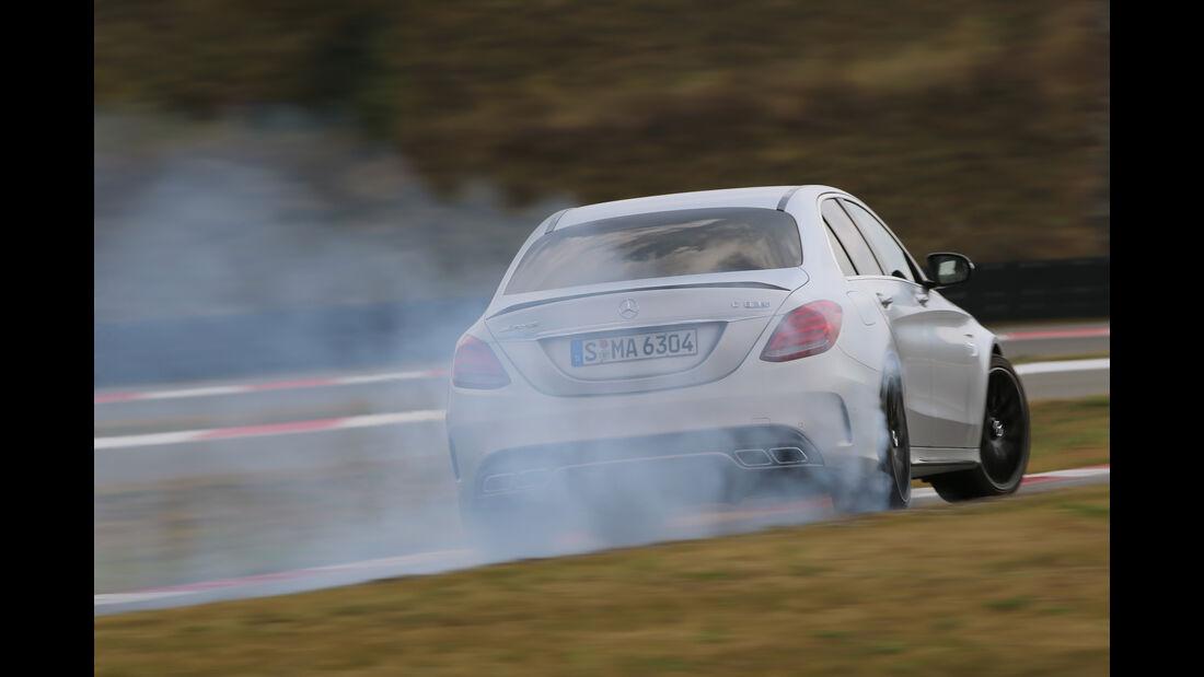 Mercedes-AMG C 63 S, Driften