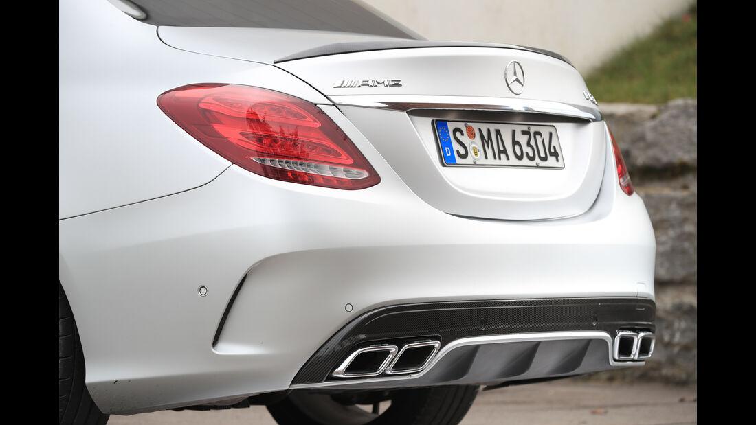 Mercedes-AMG C 63 S, Endrohre