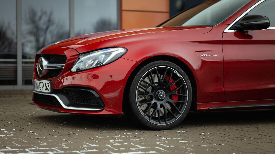 Mercedes-AMG C 63 S, Exterieur