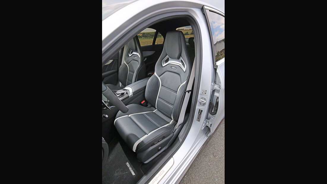 Mercedes-AMG C 63 S, Fahrersitz