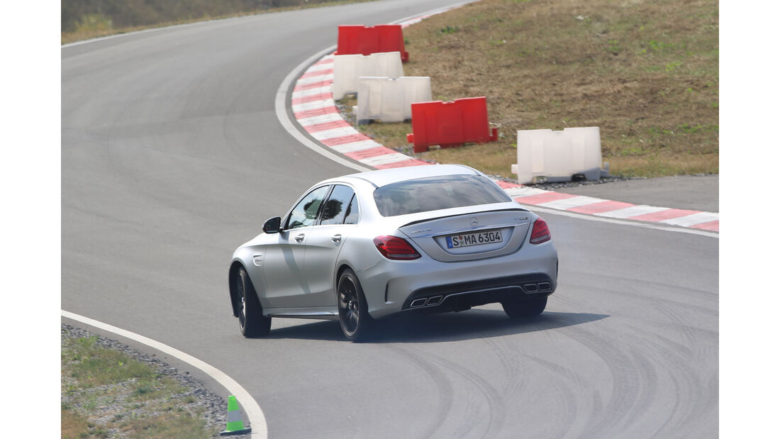 Mercedes-AMG C 63 S, Heckansicht