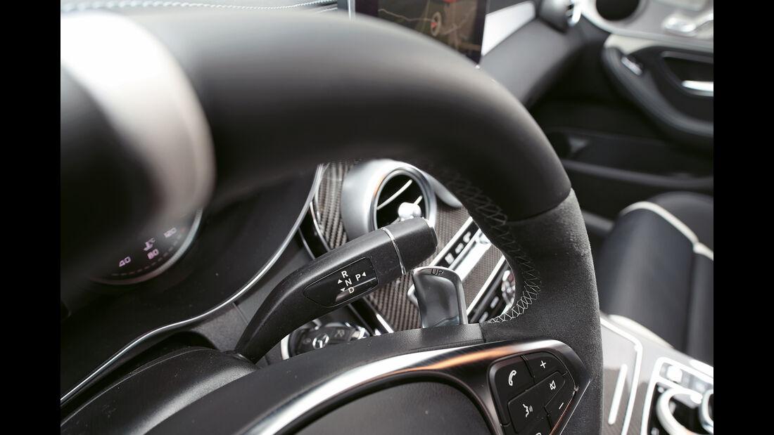 Mercedes-AMG C 63 S, Lenkrad