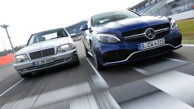 Mercedes-AMG C 63 S, Mercedes C 43 AMG, Frontansicht