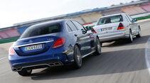 Mercedes-AMG C 63 S, Mercedes C 43 AMG, Heckansicht