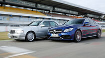 Mercedes-AMG C 63 S, Mercedes C 43 AMG, Seitenansicht