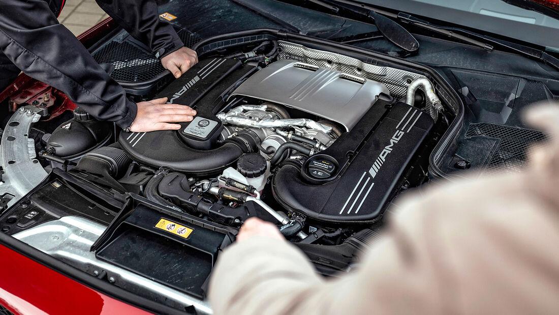 Mercedes-AMG C 63 S, Motor