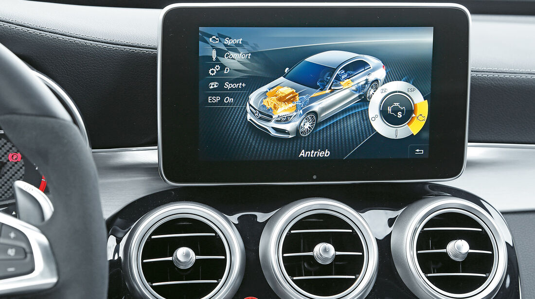 Mercedes-AMG C 63 S, Navi, Infotainment