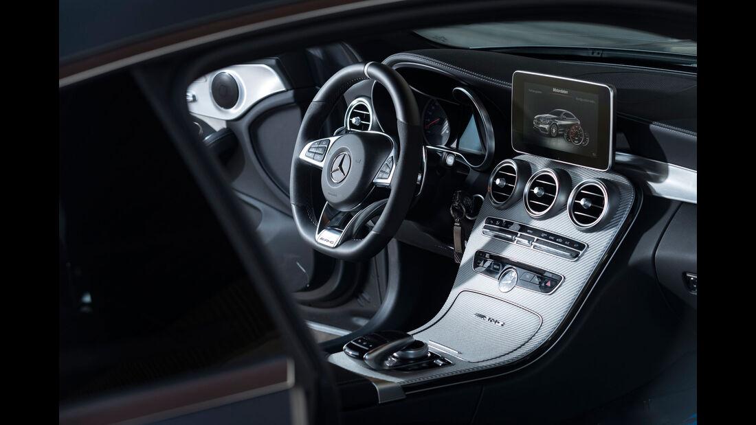 Mercedes-AMG C 63 S - Power-Coupé - Test