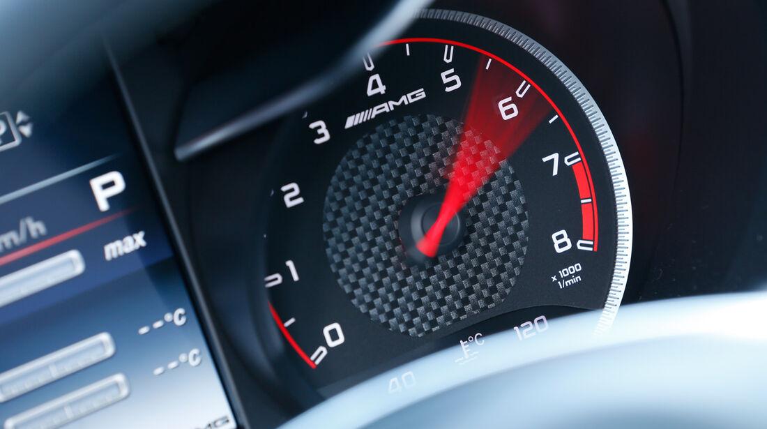Mercedes-AMG C 63 S, Rundinstrument