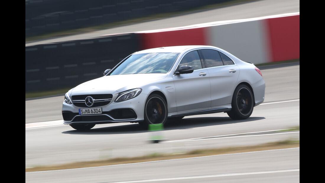 Mercedes-AMG C 63 S, Seitenansicht