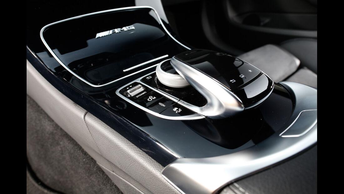Mercedes-AMG C 63, Schalthebel