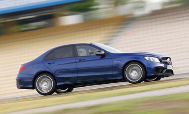 Mercedes-AMG C 63, Seitenansicht