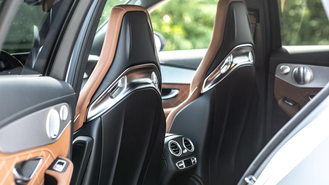 Mercedes AMG C 63 T, Interieur