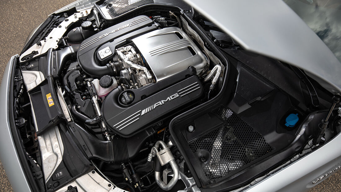 Mercedes AMG C 63 T, Motor