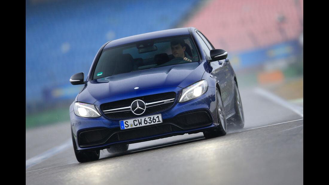 Mercedes-AMG C63, Frontansicht