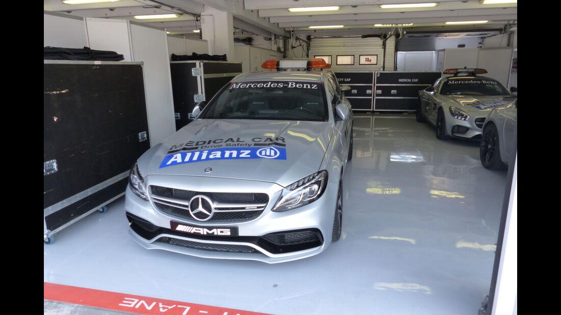 Mercedes-AMG C63 - Medical Car - GP Ungarn - Budapest - Donnerstag - 23.7.2015