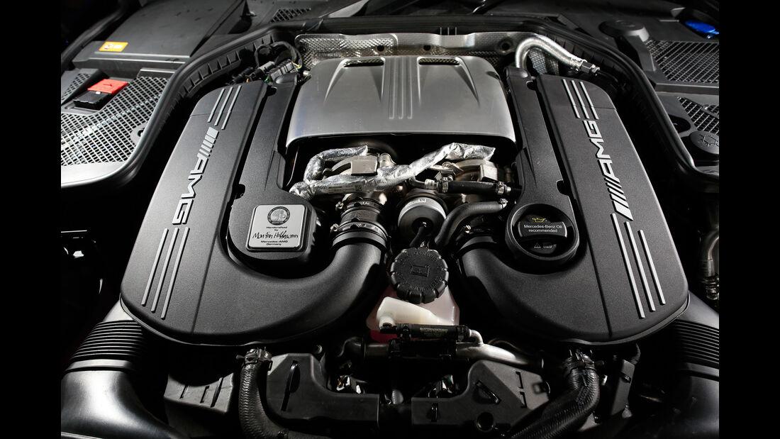 Mercedes-AMG C63, Motor