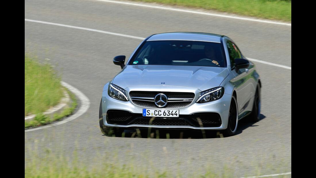 Mercedes-AMG C63 S Coupé, Frontansicht
