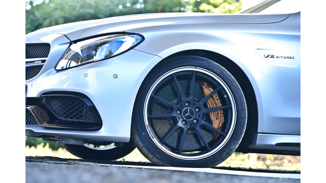Mercedes-AMG C63 S Coupé, Rad, Felge
