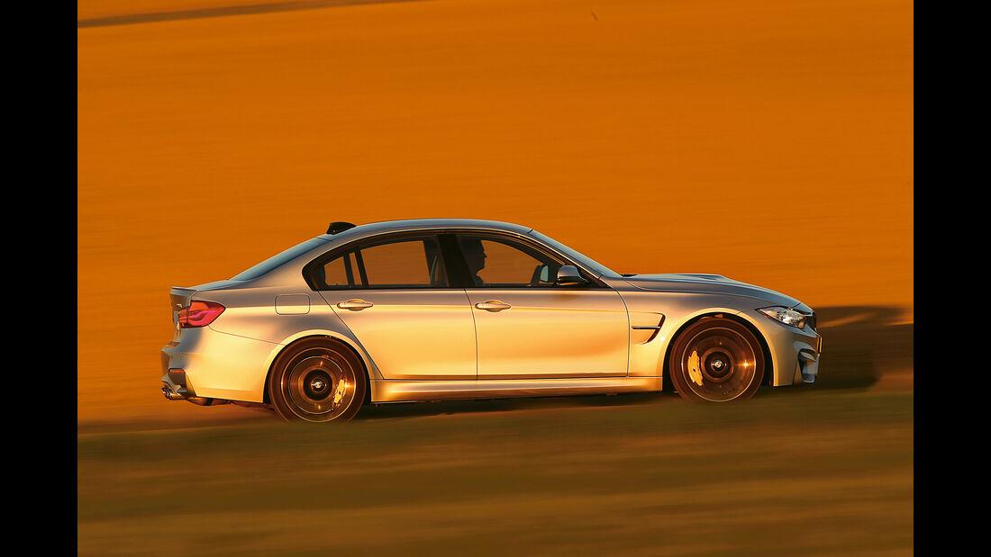 Mercedes AMG C63, Seitenansicht