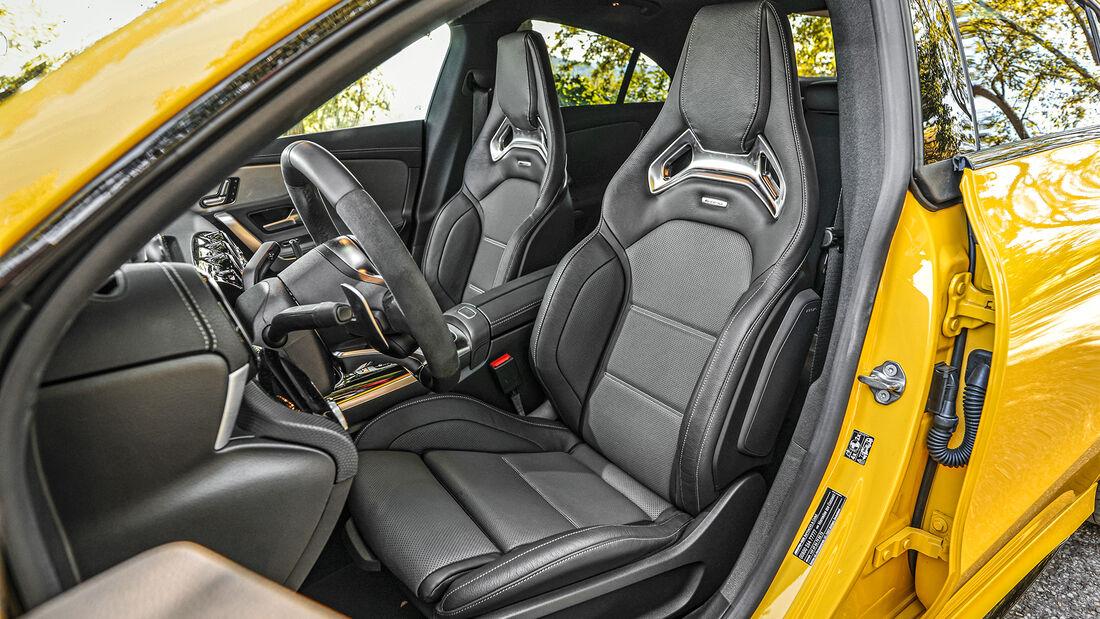 Mercedes-AMG CLA 35, Interieur