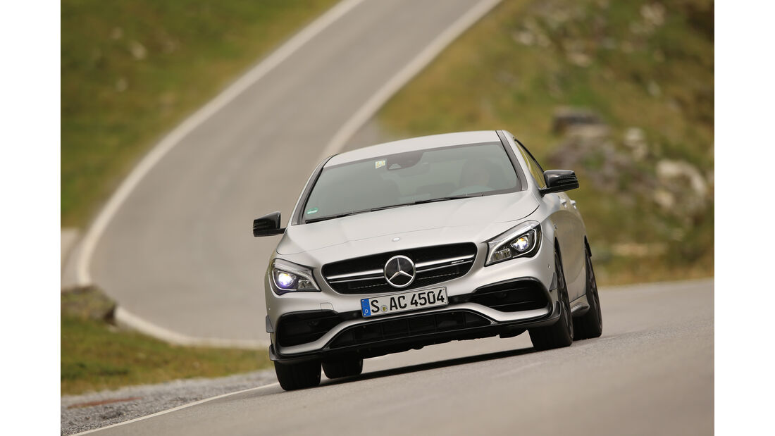 Mercedes-AMG CLA 45 4Matic, Frontansicht