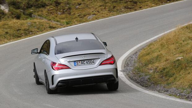 Mercedes-AMG CLA 45 4Matic, Heckansicht