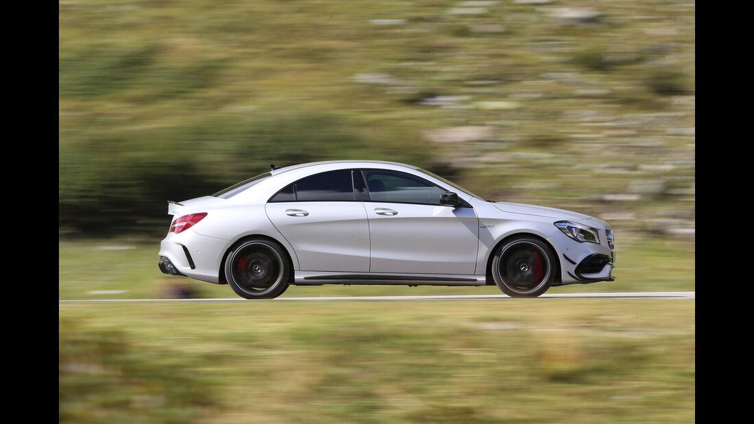 Mercedes-AMG CLA 45 4Matic, Seitenansicht