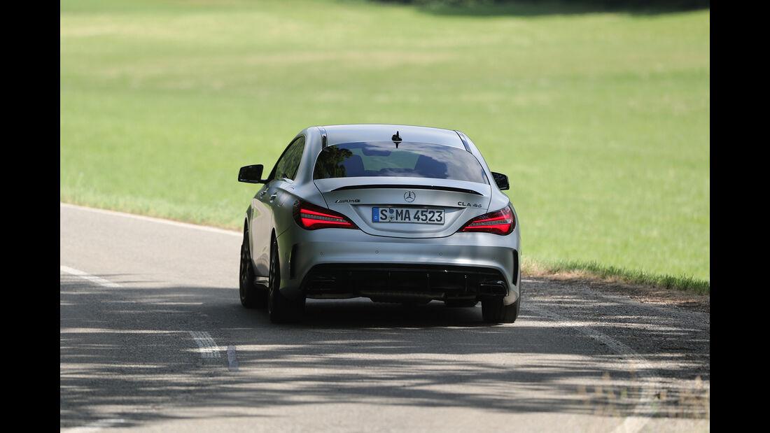 Mercedes-AMG CLA 45, Heck