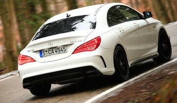 Mercedes-AMG CLA 45, Heckansicht