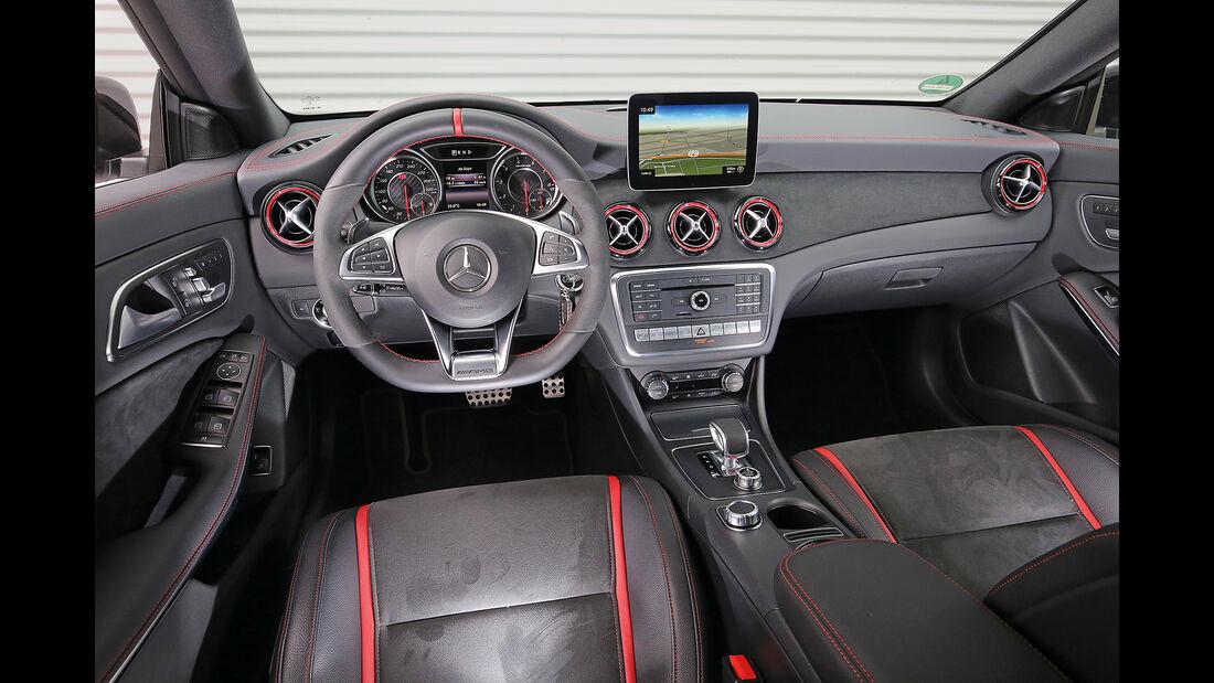 Mercedes-AMG CLA 45, Interieur