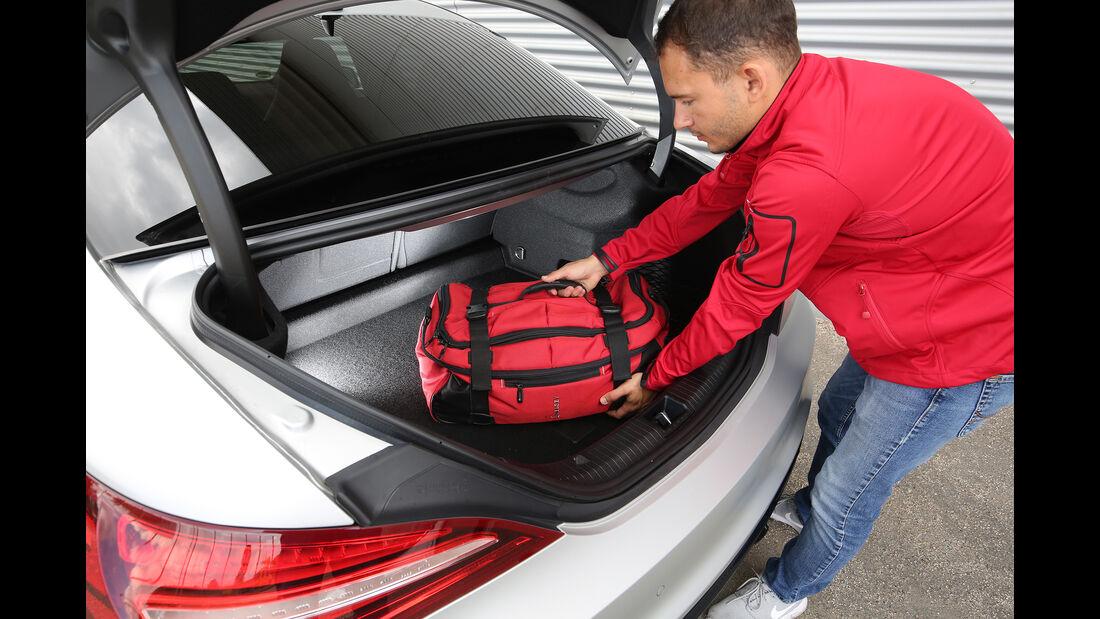 Mercedes-AMG CLA 45, Kofferraum, Check