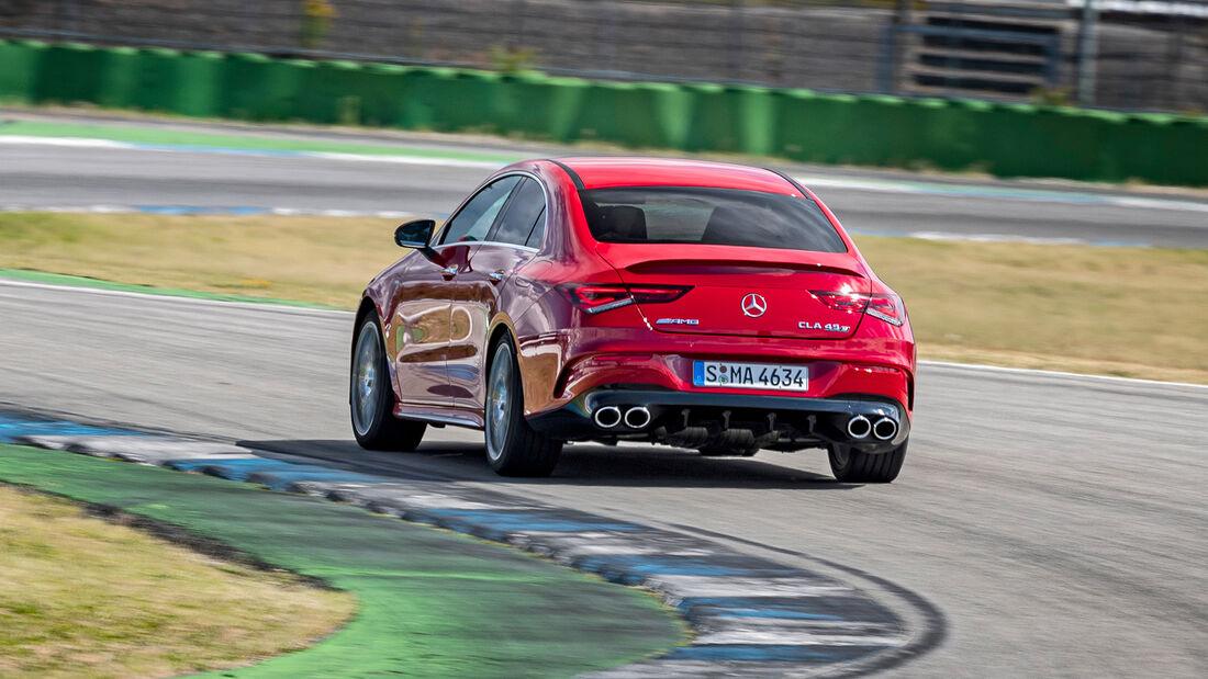 Mercedes-AMG CLA 45 S 4Matic, Exterieur
