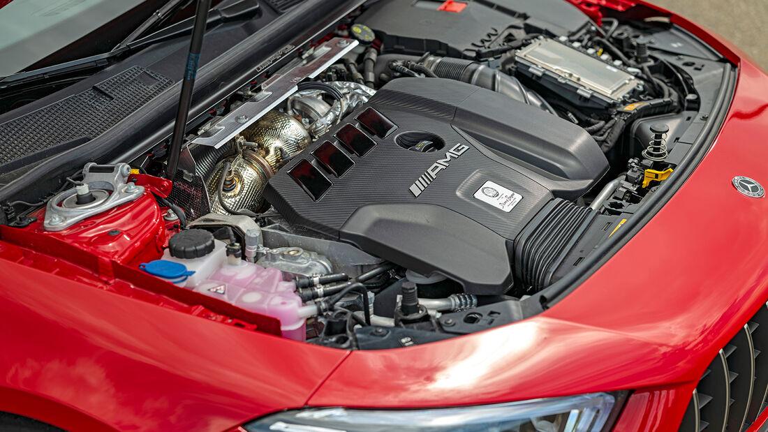 Mercedes-AMG CLA 45 S 4Matic, Motor