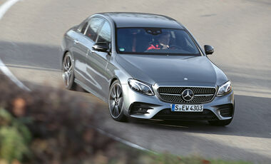 Mercedes-AMG E 43 4Matic, Frontansicht
