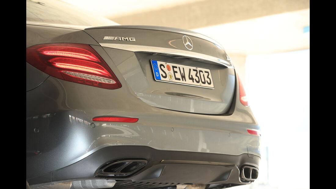 Mercedes-AMG E 43 4Matic, Heck