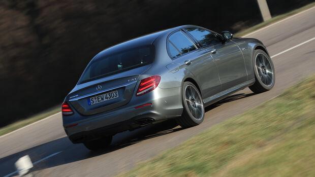 Mercedes-AMG E 43 4Matic, Heckansicht